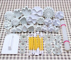 Various NEW Cake Plunger Decorating Fondant Cutter Sugarcraft Icing Mould Tools