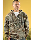 CAMO Outdoors Zip Mens Size S-3XL Realtree All Purpose Sport Hooded Sweatshirt