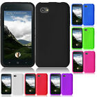 For AT&T HTC First Rubber SILICONE Skin Soft Gel Case Phone Cover accessory