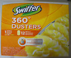 New Swiffer 360 Dusters Handle and 12 Refills Trap and Lock Dust