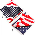 BANDANNA STARS AND STRIPES HEAD NECK SCARF BIKER ROCKER