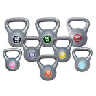 Vinyl Kettlebells Weight Strength Fitness Kettlebell workout training 2kg -14kg