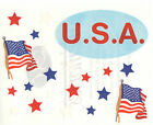 Creative Memories Scrapbooking stickers block Independence day flag US choose