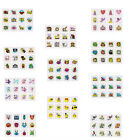 12 TEMPORARY TATTOOS,SMILEY,FAIRY,PIRATE,MONSTER,FARM,JUNGLE,SEA,INSECT,DINO ECT