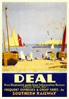 Deal, Kent. Vintage SR Travel poster art print by Sir Herbert Alker Tripp. c1930