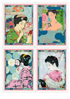 Fabric Panels; Altered Japanese Art. Craft/ Quilting/ 100% Cotton/ Applique