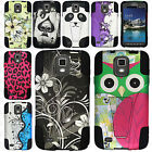 For Samsung Galaxy S4 S IV ACTIVE i537 Advanced HYBRID KICK STAND Case Cover