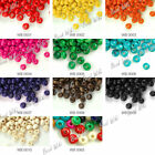 1380pcs Loose Round Wood Wooden Spacer Beads Charms Jewelry Findings 3x4mm