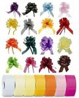"20 x 50mm (2"") Rapid Satin Pull Bows PLUS 100 Yards x 50mm (2"") Florist Ribbon"