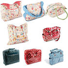 Vinyl & Fabric Craft / Sewing Machine Bag Vintage Stylish Cute Colourful Designs