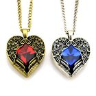 "Angel Protect Your Heart 1.2""X1.3""Pendant 30""Necklace Gift love girls EYI"