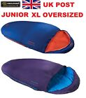 HIGHLANDER SCOTLAND MUMMY SLEEPING BAG SLEEPLINE 300 JUNIOR/KIDS/CHILDREN 3 Cols