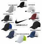 Nike Golf FITTED Swoosh FLEX FIT MESH BACK TRUCKER Cap Structured Baseball Hat