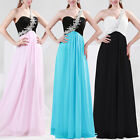 Long Cocktail Party Bridesmaids Ball Gown Evening Prom Formal Dresses FREE SHIP