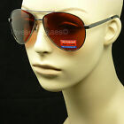 POLARIZED HD SUN GLASSES AVIATOR  BLUE RAY BLOCKER LENS DRIVE VISION FISH MM1V1