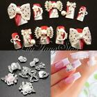 Strass Cristal Bijoux Ongle Manucure Noeud Perle Glitter Capsule Nail Art Tips
