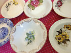 Mix & Match Vintage Shabby & Chic Cereal/Dessert Bowls.