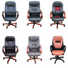 Luxury Computer Office Desk Chair PU Leather Swivel Adjustable Office Chairs