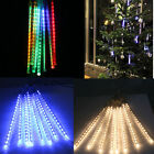 144/240 LED Meteor Shower Rain Light Tube String Christmas Decoration Tree Party