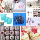 100P Disposable Piping Bag Cake Decorating Set Cupcake Icing Nozzle Tips #06