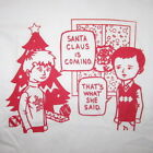 santa claus christmas that's what she said ugly sweater party humor funny tshirt