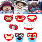 6 Styles Funny Infant Pacifiers Dummy Baby Teether Pacy Orthodontic Nipples Lips