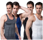 MENS SPANDEX BODYSHAPER VEST - FOR THE TRIMMER YOU!! VARIOUS COLORS