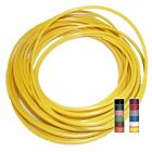 YELLOW (+ 11 TRACERS) - THINWALL 1mm2 Automotive Cable/Wire 16.5A – per 5 metres