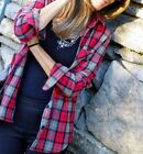 ZARA BNWT RED CHECKED SHIRT ALL SIZES 2013 A/W COLLECTION