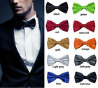 Gentleman New Style Vintage Wedding Groom Bestman Tuxedo Suit Necktie Bow Tie Q
