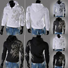 New Mens Long sleeve pullover Hooded Hoodies Jackets Coats Outwear SZ S M L XL