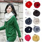 New Women's Fashion Colorful Lady Winter Warmer Knitting Collar Wrap Neck Scarf