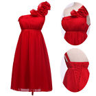 Folwer One Shoulder Short Mini Bride Evening Dress Skirt Holiday Party Ball gown