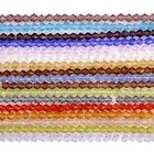 3mm 4mm 6mm Multi-color Crystal Glass Bicone Spacer Loose Beads Wholesales