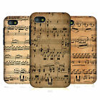 HEAD CASE DESIGNS MUSIC SHEETS CASE COVER FOR BLACKBERRY Q5
