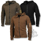 TACTICAL FLEECE HOODIE MILITARY SPECIAL FORCES JACKET POLICE SECURITY RECON ARMY
