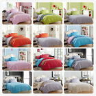 Reversible Queen Size Bed Linen New Quilt/Duvet Cover Set Cotton Doona Covers