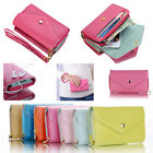 Multi-function Envelope Leather Wallet Purse Cover Case for iPhone 4S 5S 5C 5 NW