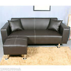 Living Room Furniture Best Deals - HOMCOM Sectional Sofa Couch Loveseat Leather Furniture Living Roon Set