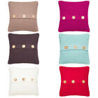 Catherine Lansfield Home Chunky Knit Cushion Cover