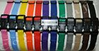 "CollarSafe Light Weight Soft Nylon Puppy ID ""SNAP"" Buckle Collars - Litter Bands"