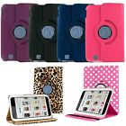 """PU Leather 360 Rotating Case Cover Stand for Barnes & Noble Nook HD 7"""" Tablet"""