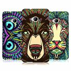 HEAD CASE DESIGNS AZTEC ANIMAL FACES CASE COVER FOR HTC ONE