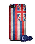 Hawaii State Flag, Hawaiian - Silicone Rubber Case for iPhone 5 or 5s, Cover