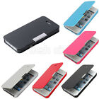 Magnetic Wallet PU Leather Flip Case Cover Folio Pouch For iPhone 4 4S 5 5G BF00