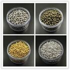 2mm 3mm 4mm Iron Round Beads Pendants Jewelry Findings