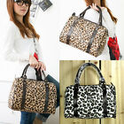 Fashion Womens Korean Style Leopard Shoulder Bag Tote Handbag Shopper Briefcases
