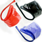 Men's Sexy Shiny Faux Leather C-string Thong Invisible Underwear Briefs Pouch OS