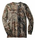 Russell Outdoors REALTREE AP Camo LONG SLEEVE T-shirts S-2XL 3XL Bow HUNTING