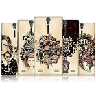 HEAD CASE INTROSPECTION PROTECTIVE HARD BACK CASE COVER FOR SONY XPERIA S LT26i